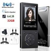 MP3 Player with Bluetooth4.2 Speaker 2.4Inch Screen metal hifi music player with fm radio eBook hifi walkman support usbmini SD