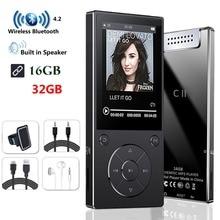 MP3 плеер с Bluetooth4.2 динамик 2,4 дюймов экран Металл hifi музыкальный плеер с FM радио Электронная книга hifi walkman поддержка usbmini SD