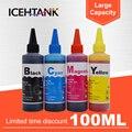 ICEHTANK Универсальный 100 мл чернильный набор для заправки чернил для Epson T0731 Stylus CX 7300 7310 8300 9300F 5900 6900F чернильный картридж для принтера