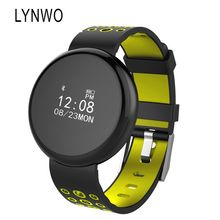 Ограниченное предложение Lynwo i8 0.66 дюймов круглый Экран крови кислородом Давление сердечного ритма Мониторы Фитнес трекер Смарт-часы