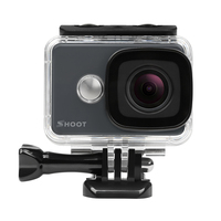 SHOOT T31 4K Action Camera 14MP Ultra HD Lens Underwater Sports Cam With 2 4G Wifi