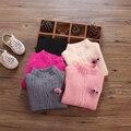 Бесплатная shippFairy девушки одежда осень и зима ребенок основной рубашка ребенок свитер женский все матч пуловеры свитер одежды хлопок