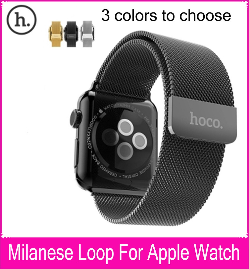 Wholesale HOCO Milanese Loop Strap For Apple Watch 42mm 38mm Made By 316L Stainless Steel With