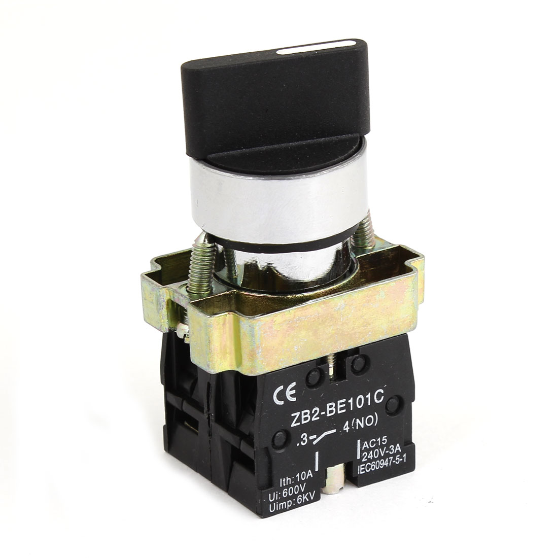 UXCELL Material Ac 250V 3A On Off On Dpst Rotary Selector Latching Knob Switch metal | plastic, uxcell on off 2 position 3p latching power push button switch ac 220v 10a w cover latching