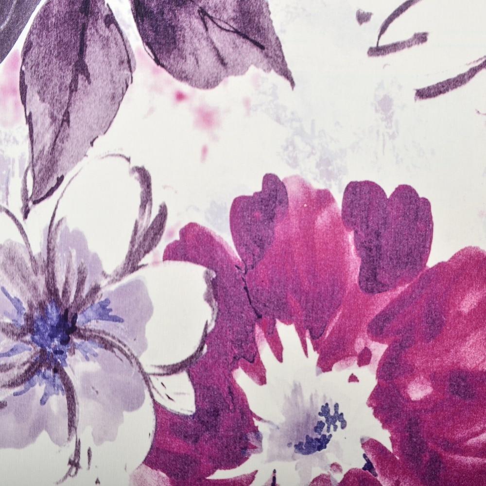 Purple Flower Wallpaper For Bedroom Aliexpresscom Buy Vintage Watercolor Nature Large Flower