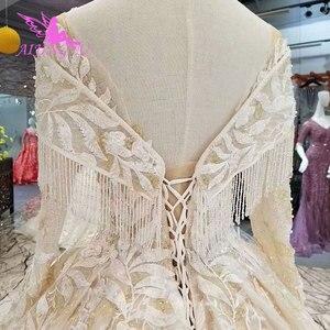 Image 5 - AIJINGYU gelinlik dantel önlük Vintage Pakistani finlandiya top lüks 2021 2020 gerçek katedral elbise pakistanlı gelinlik