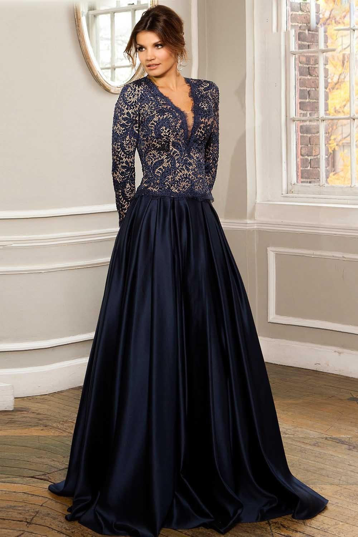 Aliexpress.com : Buy New Graceful A line V neck Long Lace ...