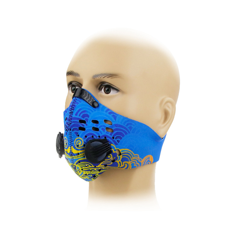 JAISATI Camouflage wire field protection mask Dustproof anti-fog PM2.5 dust mask jaisati transparent dust proof welding hood headset mask abor protection protection surface screen splash mask