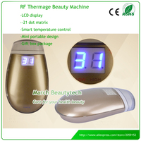 Taşınabilir Fraksiyonel RF Thermage Cilt Sıkılaştırma Yüz Germe Anti Aging Dot Matrix Radyo Frekans Yüz Makine
