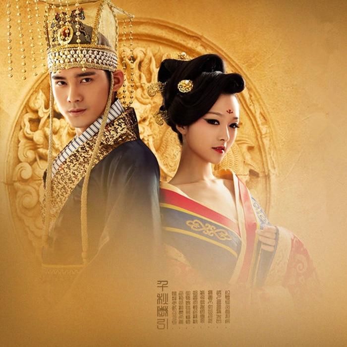 Dynastie Traditionnel Mariage Chinois Couple Costume Style Impératrice couple Empereur Jouer Tang Pour Tv Hanfu women Man De EUdxxPIq