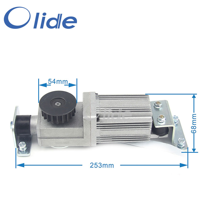 Square Motor For Automatic Sliding Door Opener Brushless DC24V Servo MotorSquare Motor For Automatic Sliding Door Opener Brushless DC24V Servo Motor