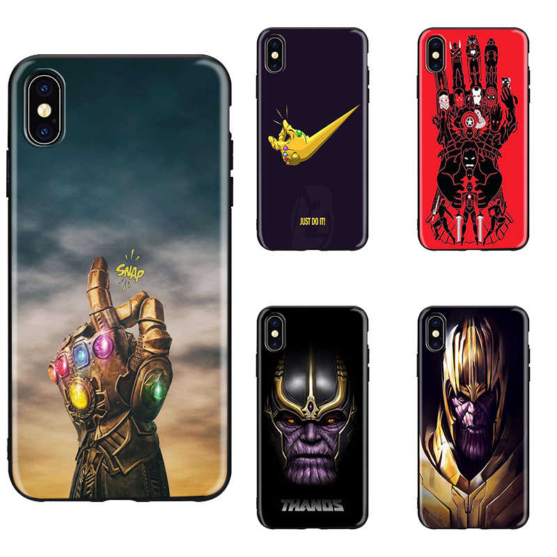 Avengers Infinity War Thanos Phone Case for iPhone SE 5 5S
