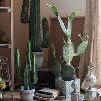 Моделирование большой кактус бонсай Фея Колонка мексиканский Tianzhuzhu декоративные украшения посадки подарок