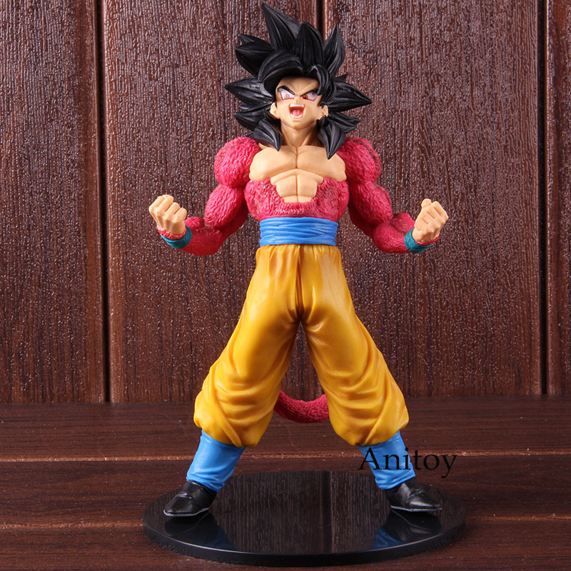 Dragon Ball GT Blood of Saiyans Special III Son Goku Super Saiyan 4 Figure Son Gokou SS4 PVC Collectible Model Toy 1