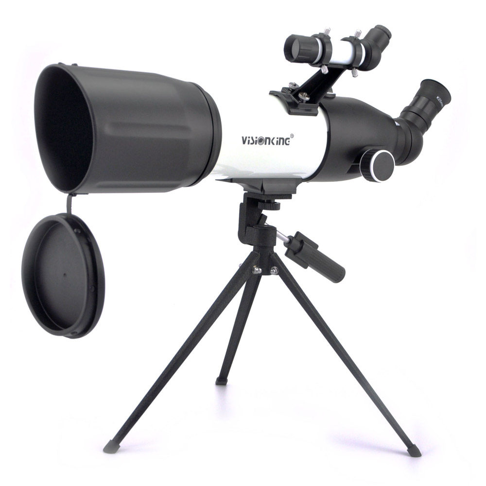 Visionking 80400mm Refractor Space Astronomical Telescope Astronomy Monocular Saturn Jupiter Moon Observation With Tripod