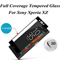 0.26mm 9H Tempered Glass Film For Sony Xperia XZ Screen Protector Full Clear Transparent 3D Ultra Clear Guard Front Full Film
