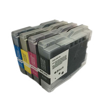 Vilaxh LC10 LC37 LC51 LC57 LC960 LC970 LC1000 ink Catridge for Brother DCP-130C DCP-330C 340CN MFC-685CW MFC-845CW MFC-885CW