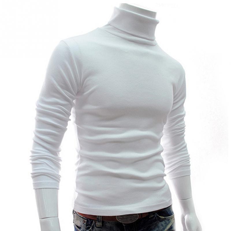 2018 на весну и зиму для мужчин тонкий теплый хлопок высокое средства ухода за кожей шеи пуловер джемпер, свитер топ с длинным рукавом черепаха средства ухода за кожей шеи плескаться верхняя одежда, свитер