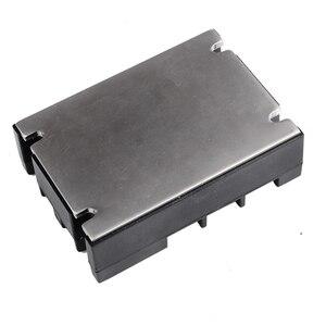 Image 5 - 3 المرحلة تتابع 60A 80A 100A SSR 90 280 فولت AC 20mA AC إلى AC تتابع الحالة الصلبة ثلاثة المرحلة Rele مع غطاء