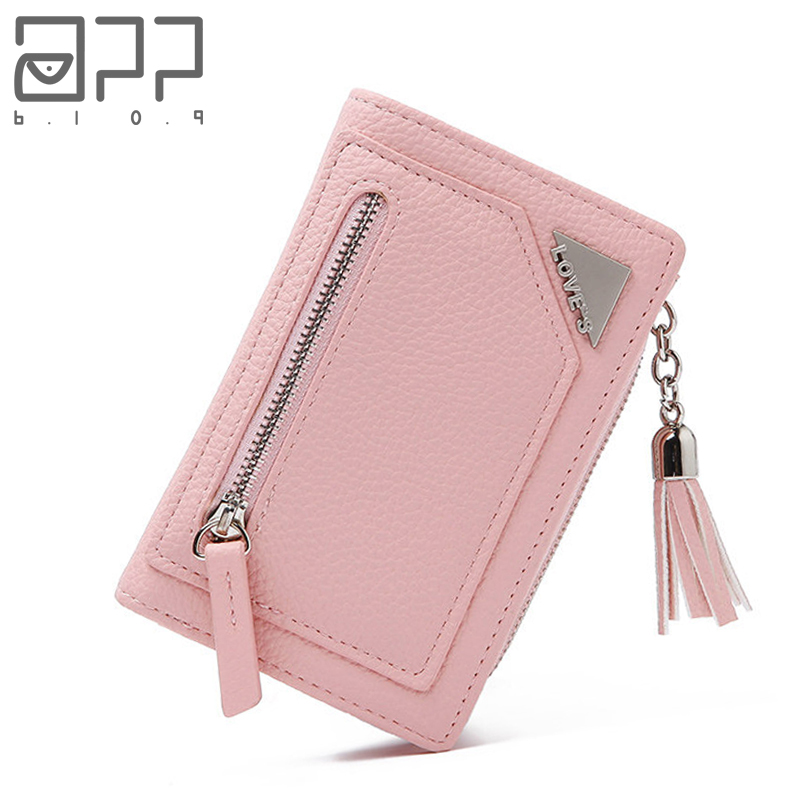 APP BLOG  Brand Women's Wallet New Small Clutch Female Purse Fashion Leather Clutch Wallets Multi Pockets Coin Bags For Femme