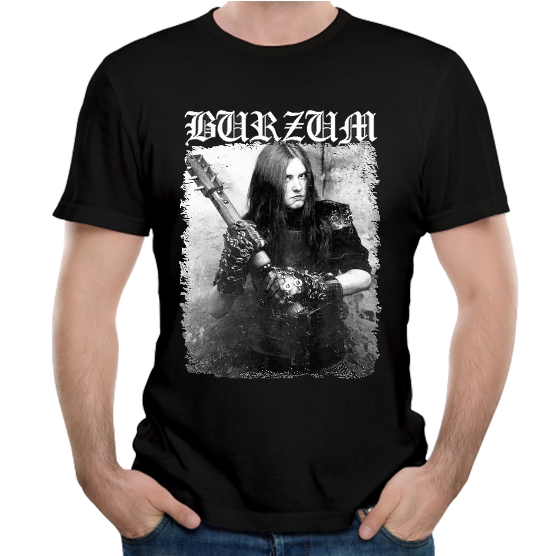 Hip Hop Style Tees Burzum Filosofem Cover   T     shirt   Nice Short-sleeved Fashion Top design New Arrival Popular   T  -  SHIRT