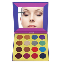 MISS ROSE Nocturne Eyeshadow Pallete Professional 12 Colors Make up Palette Matte Shimmer Glitter Pigmented Eye Shadow Powder