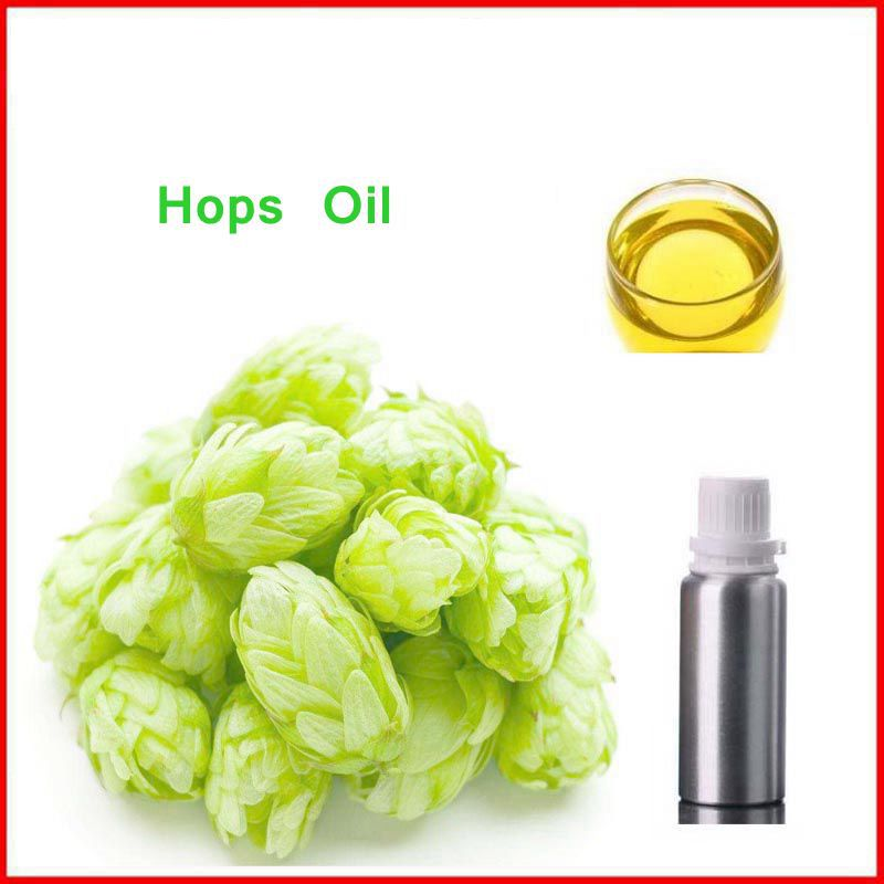 100% Natural&Pure Hops/ Humulus Lupulus Oil with Free Shipping, reducing phlegm&relieving cough