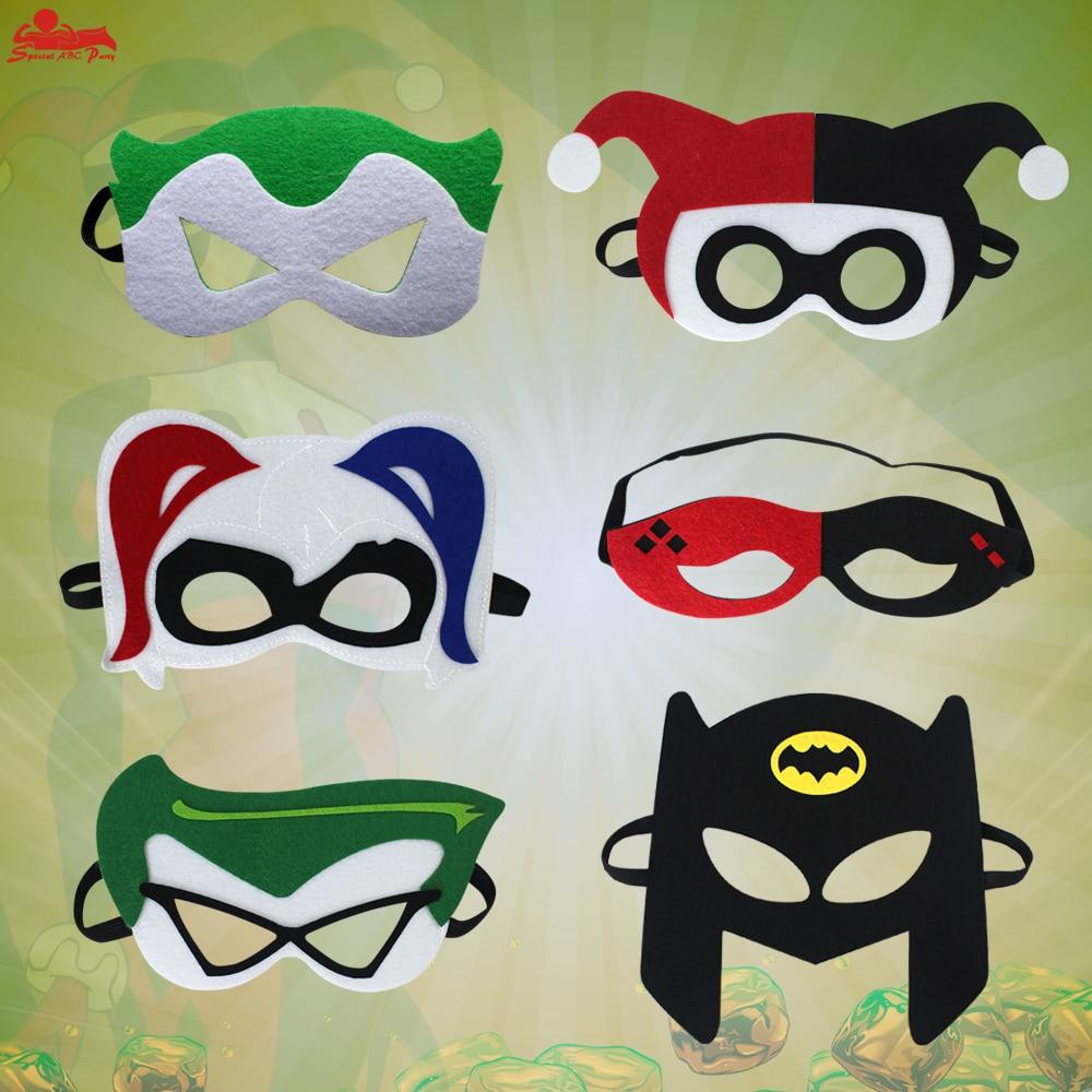 Speciale Kind Super Hero Voelde Masker Cosplay Hero Thema Halloween Voelde Speelgoed Party Verjaardag Jongen Harlequin Kind Cosplay Fancy Masker Zacht En Antislippery