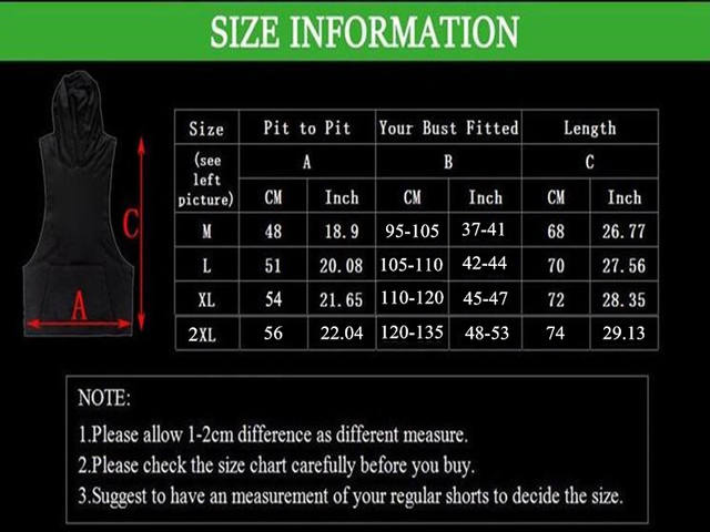 Men Gyms Clothing Cotton Hooded Vest