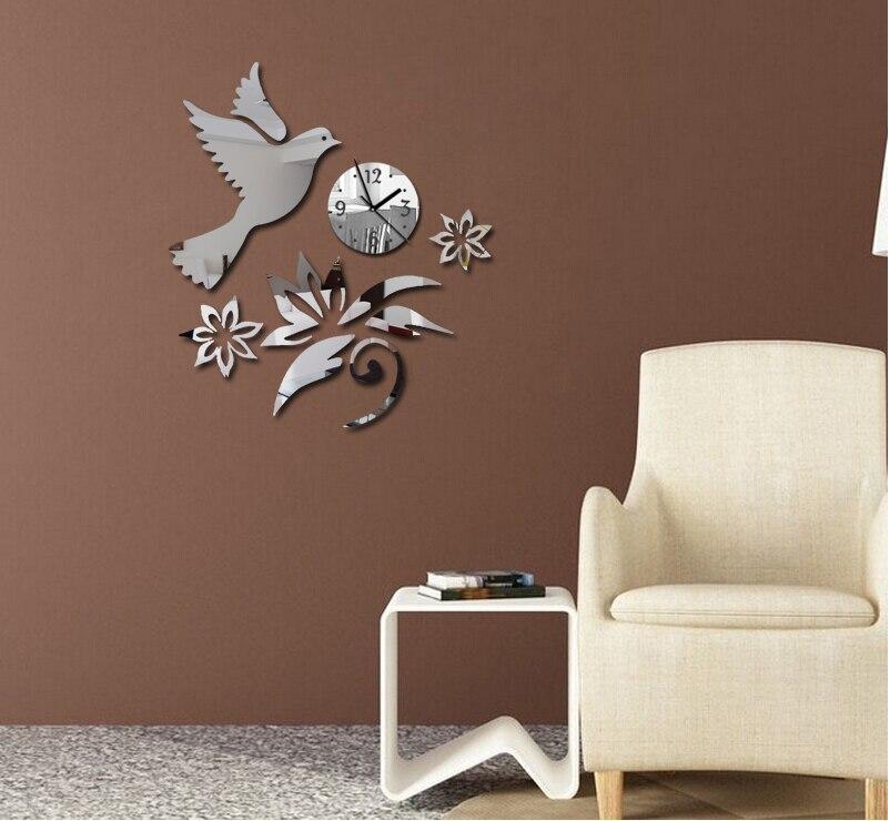 2019 Hot Sale Wall Clock Clocks Watch Reloj De Pared Horloge Modern Design Large Decorative Quartz Living Room 3d Diy Acrylic