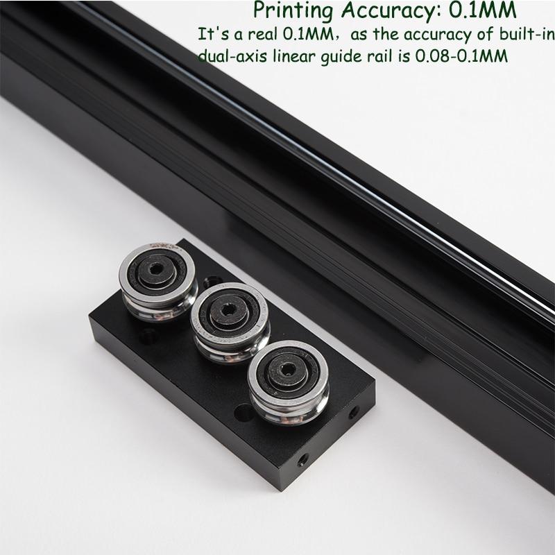 High Speed 3d Printers Machine Ortur4 Impresora 3d Resume Printing Imprimante 3d Hotbed Autoleveling& Calibration 3d Printer FDM 3