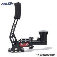 Tansky наклейки на автомобиль E-brake Гидравлический Дрифт ручной тормоз Черный рычажный механизм и масляный бак цилиндр TK-33003HU07BK