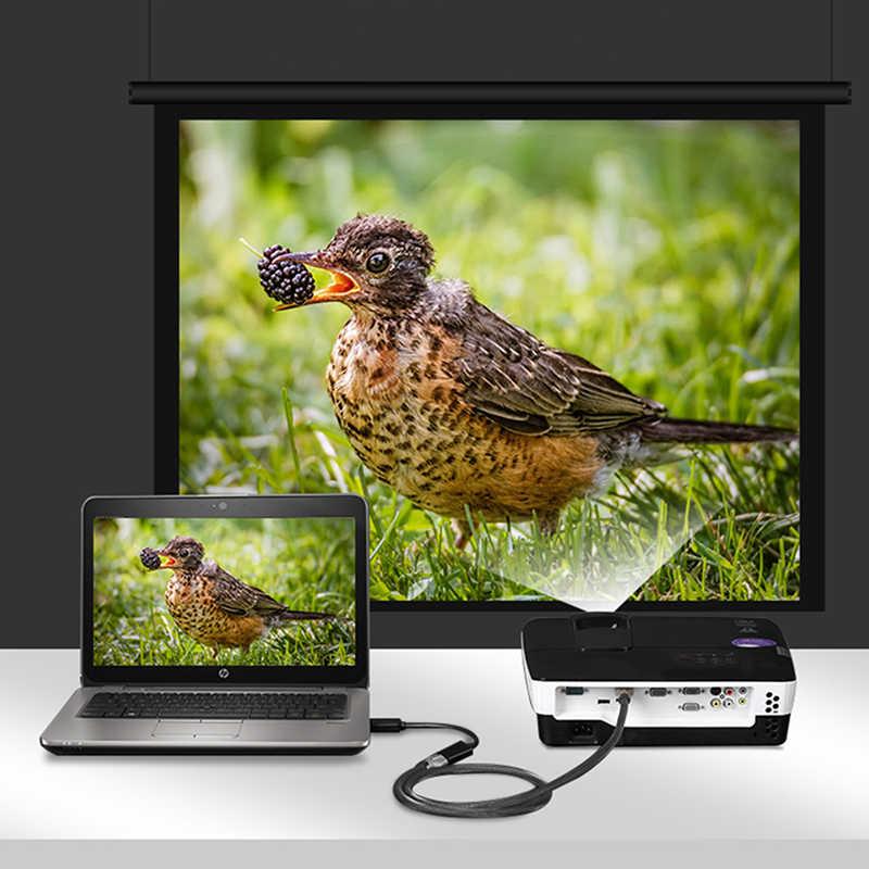 DP untuk HDMI Konverter Kabel Adaptor DisplayPort Ke HDMI Male To Female 1080 P 4 K X 2 K untuk proyektor Display untuk HDMI Video Kartu