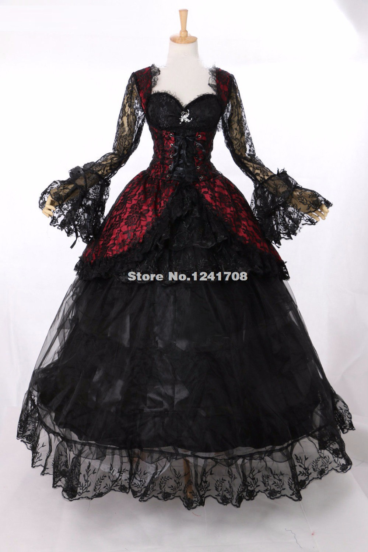 Gothic Victorian Era Dress