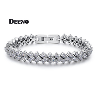 DEENO Cubic Bracelets Bangles Charm Bracelet Gift Lady Jewelry For Women Female