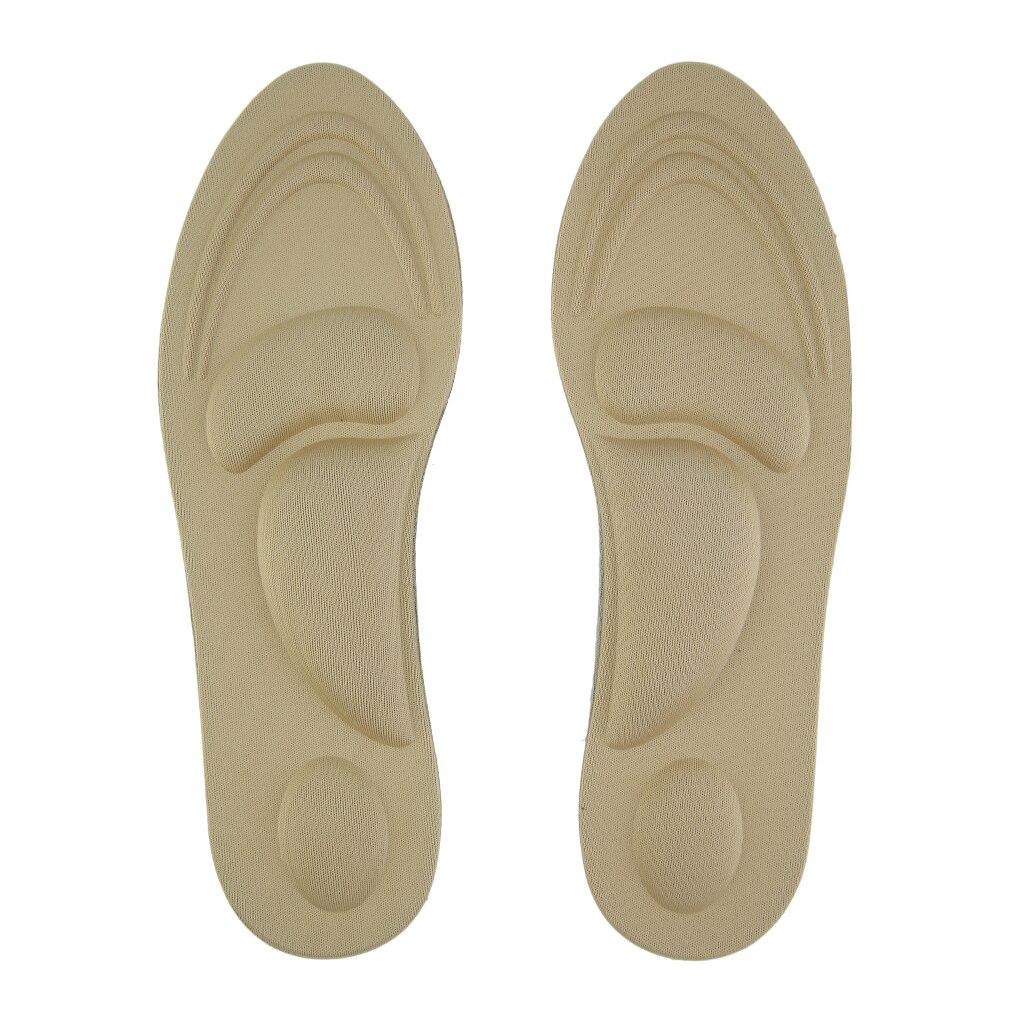 Women Feet Care Massage High Heels Sponge 3D Shoe Insoles Cushions Pads DIY Cutting Sport Arch Support Orthotic high heels sponge 3d 4d shoe insoles cushions pads diy cutting sport arch support orthotic feet care massage 1 pair women