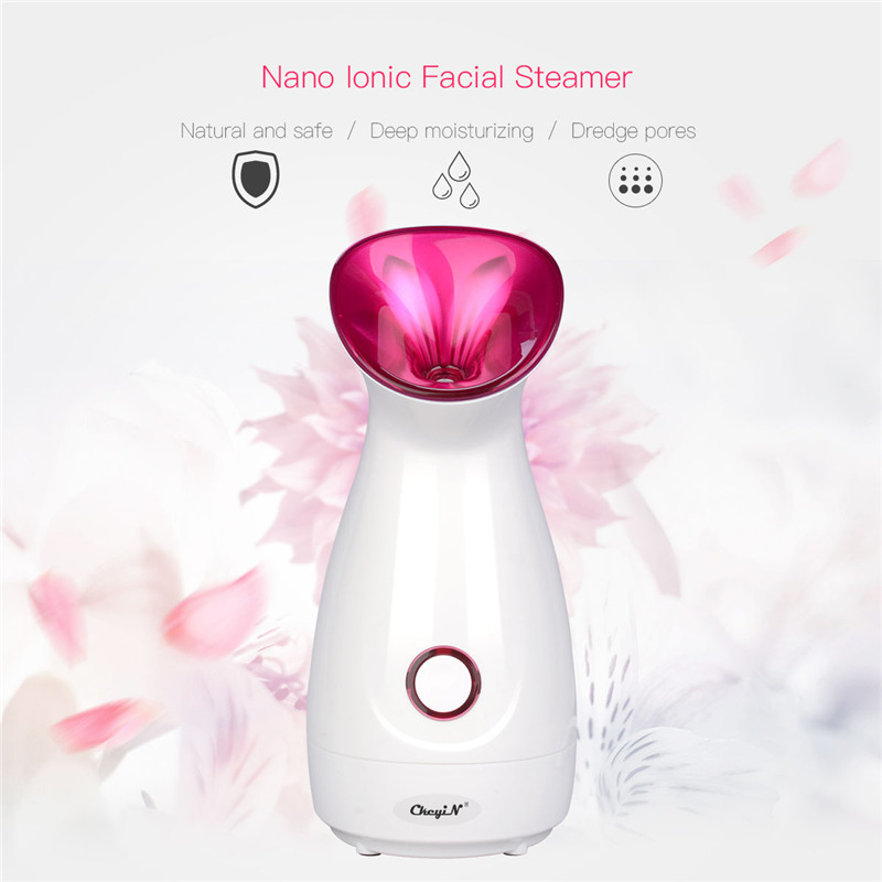 Deep Cleansing Facial Pore Cleaner Face Steaming Device Facial Steamer Machine Thermal Nano Ionic Mist Sprayer Skin Care ToolsDeep Cleansing Facial Pore Cleaner Face Steaming Device Facial Steamer Machine Thermal Nano Ionic Mist Sprayer Skin Care Tools