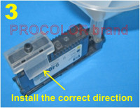 Kit de limpeza da cabeça de impressão de impressora inteligente limpo kit ferramenta de recarga para hp designjet 5500/5500 ps/5000/5000uv/5500 ps uv/5500uv