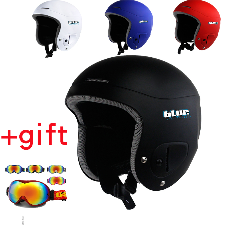 BLUR Ski Full-Face Helmet For Adults Snowboard Helmet Sports Helmet Covers Head Guard Apine Skiing Protection For Women And Man free shipping new brand ski helmet with abs shell snowboard protection snowboardig skiing helmet with mirror for men women