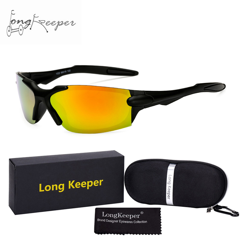 Outdoor Sport Cycling Bicycle UV400 Bike Riding Sun Glasses Eyewear Goggles withe Case & Gift Box by LongKeeper