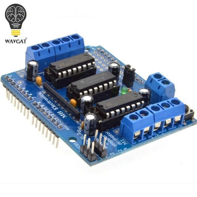 Freeshipping  L293D motor control shield motor drive expansion board FOR Arduino motor shield