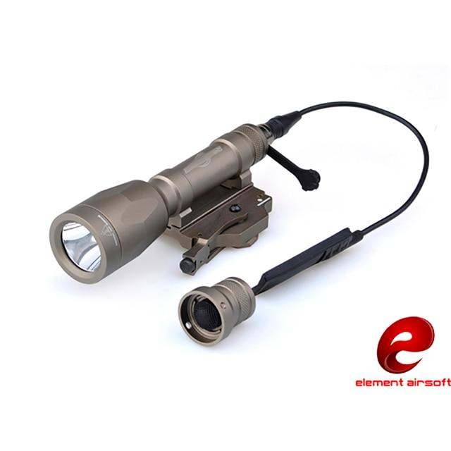 Волшебный огонь M620p Тактический яркий свет Быстрый снос фонарик Наружное освещение водонепроницаемый элемент Ex363 BK DE