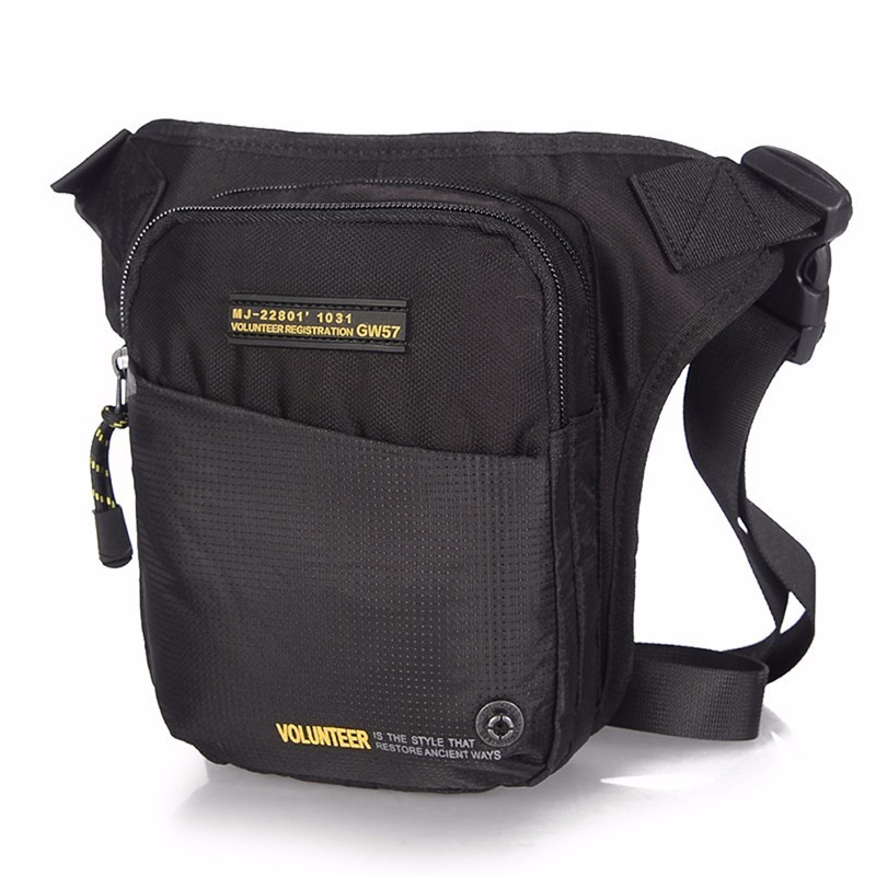 New Military Waist Chest Leg Drop Bags Cross Body Shoulder Bag Male High Quality Waterproof Nylon Men Hip Bum Fanny Belt Pack