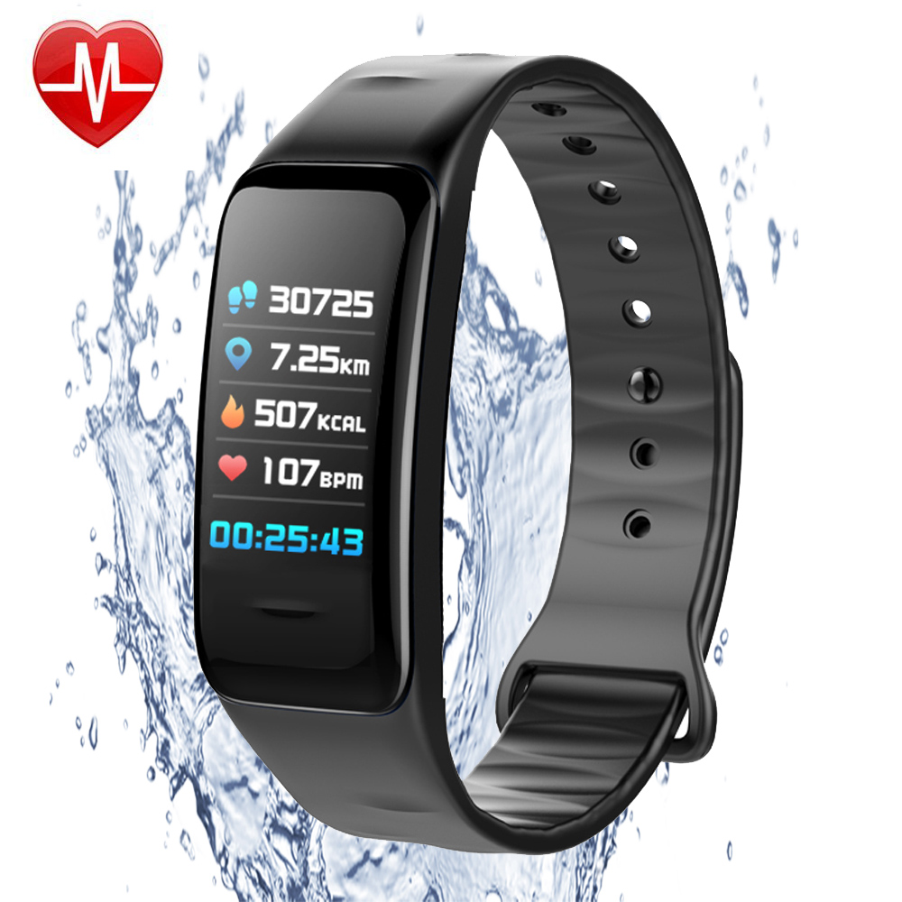 Fitness Tracker Smart Band Pulsometer Bracelet Heart Rate Monitor Smart Wristband Watches Blood Pressure Pedometer PK mi band 2