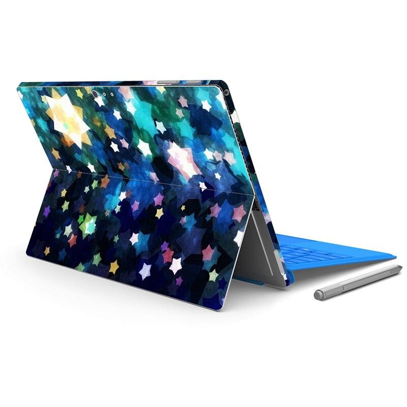 Новый защитный наклейка протектор ПВХ кожного покрова Наклейки для микро для Surface Pro 4
