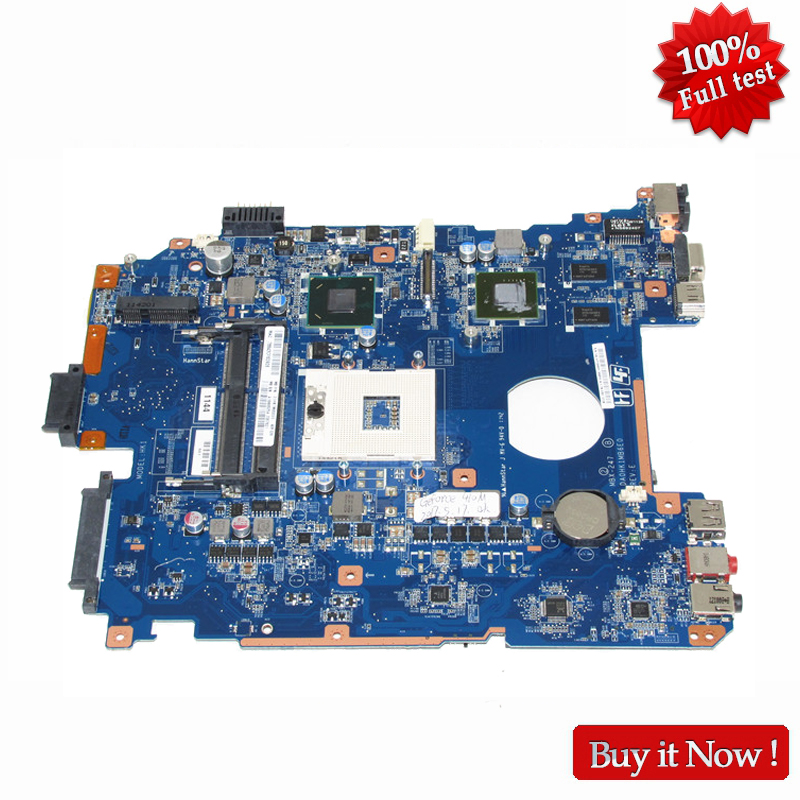 NOKOTION A1848625A Main Board For Vaio PCG-71912L MBX-247 Motherboard DA0HK1MB6E0 with GT410M HM65 100% test все цены
