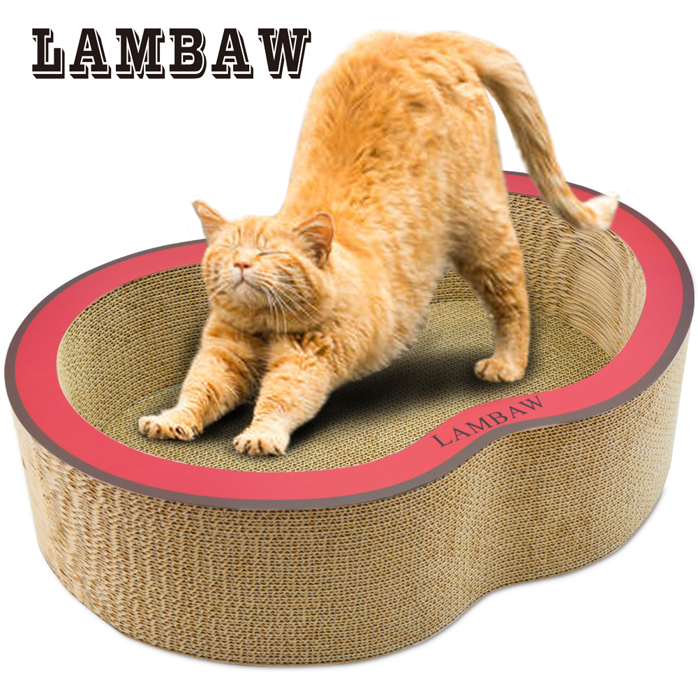 22.05 Inch Jumbo Echo Friendly Corrugated Couch Big Cat
