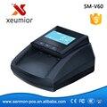 USD/EURO Bill Detector de Dinero Portátil Detector de Pantalla LCD Máquina de Hacer Dinero Falsificado SM-V60