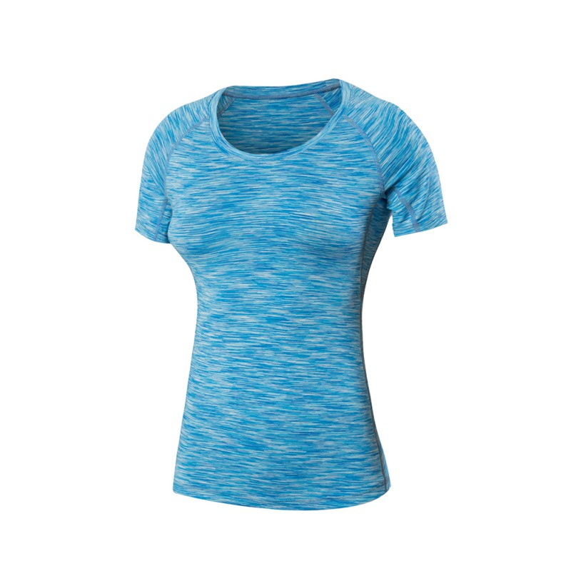 Yoga Gym Compression Tights Womens Sport T-shirts Quick Dry Shirt S-XXL