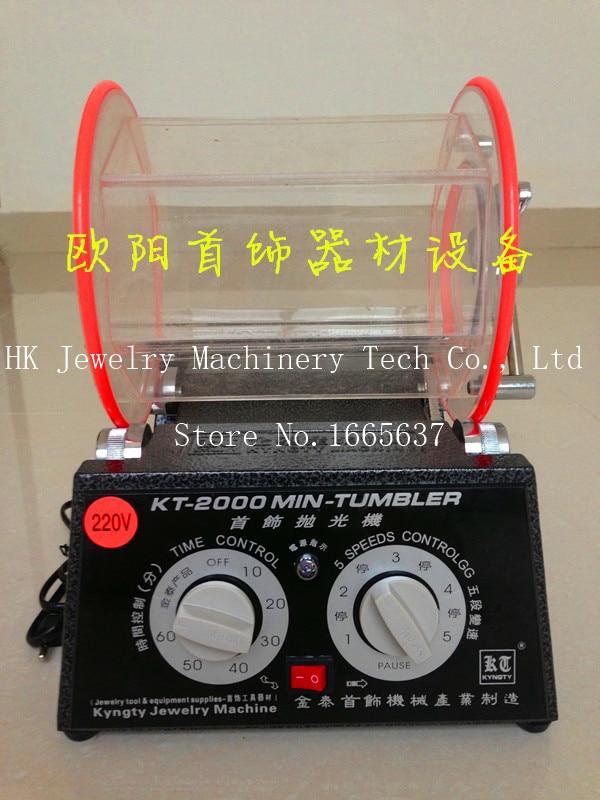New Rotary Jewelry Tumbler/polisher. Capacity 5KG, jewelry polishing machine дизайн панков турецкий браслеты для глаз для мужчин женщины новая мода браслет женский сова кожаный браслет камень